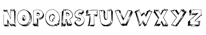 scoolar tfb Font UPPERCASE