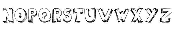 scoolar tfb Font LOWERCASE