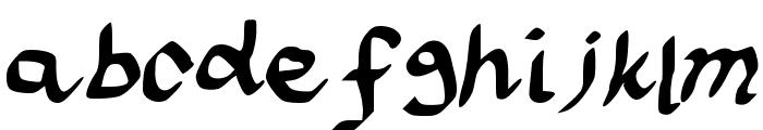 scraapribbon Font LOWERCASE