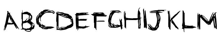 scri-bubble Font UPPERCASE
