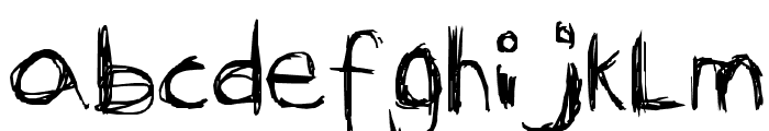 scri-bubble Font LOWERCASE