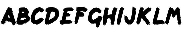 scribbage Font LOWERCASE