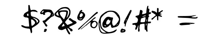 scribblesandgiggles Font OTHER CHARS