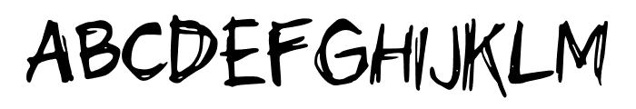 scribblesandgiggles Font UPPERCASE