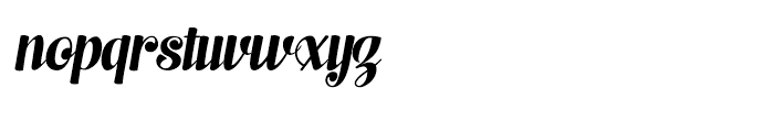 Scaramouche 2 Font LOWERCASE