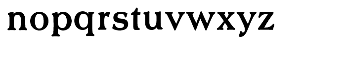 Scenario Medium Font LOWERCASE