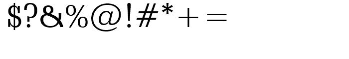 Schadow Roman Font OTHER CHARS