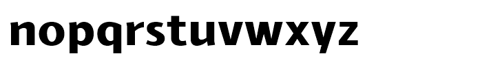Schar Heavy Font LOWERCASE