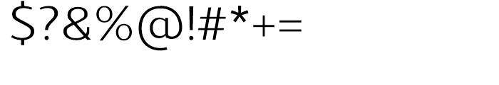 Schar Regular Font OTHER CHARS
