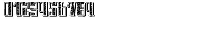 Schneider Kontrast 4 Shadow Font OTHER CHARS