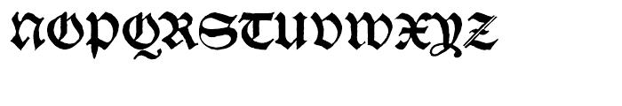 SchwarzKopf New Font UPPERCASE