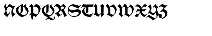 SchwarzKopf Old Font UPPERCASE