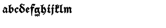 SchwarzKopf Old Font LOWERCASE