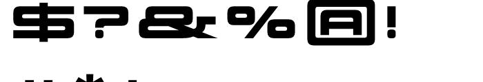 Scion 750R Black Font OTHER CHARS