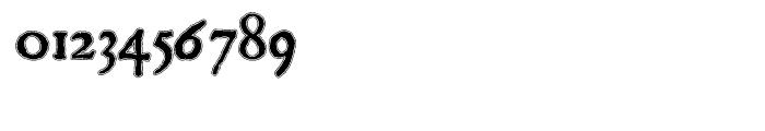Scoto Koberger Fraktur N11 Lined Font OTHER CHARS