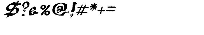 Scoto Koberger Fraktur N9 Italic Font OTHER CHARS