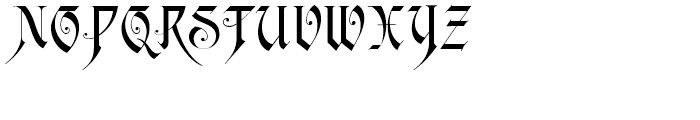 Scottsdale Text NF Regular Font UPPERCASE