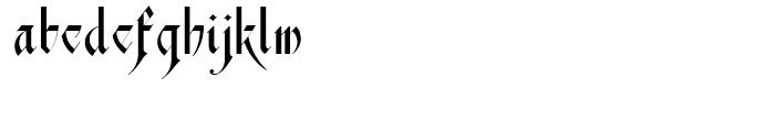 Scottsdale Text NF Regular Font LOWERCASE