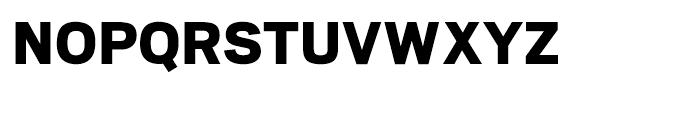 Scout Black Font UPPERCASE