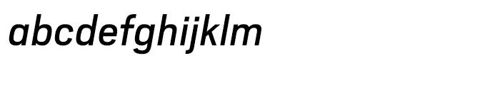 Scout Regular Italic Font LOWERCASE
