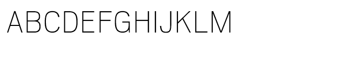 Scout Thin Font UPPERCASE