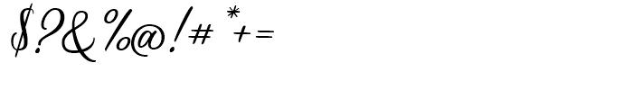 Scrapbooker Script Font OTHER CHARS