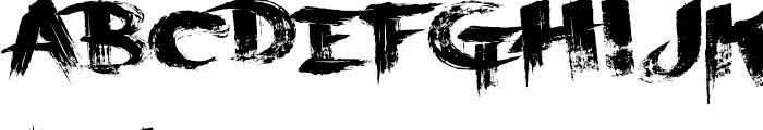 Scraper Font UPPERCASE