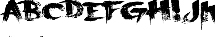 Scraper Font LOWERCASE