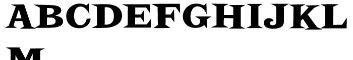Screwby Black Font UPPERCASE