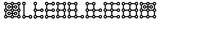 Scriba Regular Font OTHER CHARS