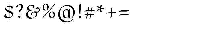 Scrivano Regular Font OTHER CHARS