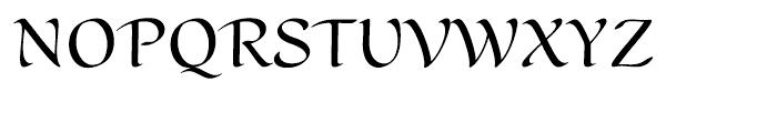 Scrivano Regular Font UPPERCASE