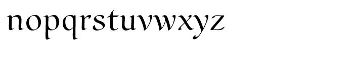 Scrivano Regular Font LOWERCASE