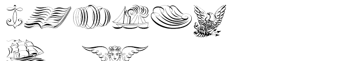 Scrolls A Font OTHER CHARS