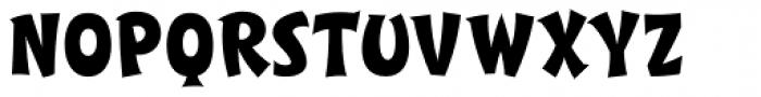 SCRIPT1 Toon Casual DTP Font UPPERCASE