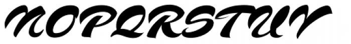 SCRIPT1 Voodoo Script Normal Font UPPERCASE