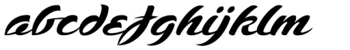 SCRIPT1 Voodoo Script Normal Font LOWERCASE