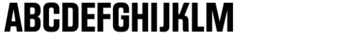 Scaffold Bold Font UPPERCASE