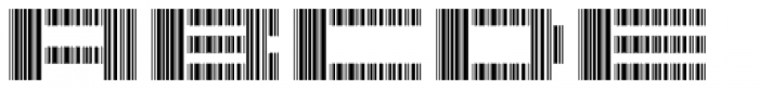 Scan Font LOWERCASE