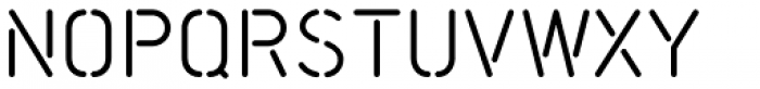 Scape Bold Font LOWERCASE
