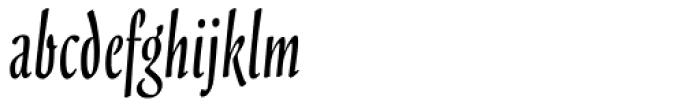 Scarborough Font LOWERCASE