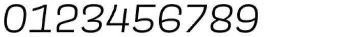 Scarlet Semi Light Italic Font OTHER CHARS