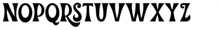 Scary Scrimshaw NF Font UPPERCASE