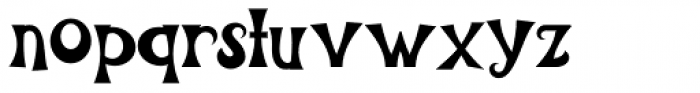Scary Scrimshaw NF Font LOWERCASE