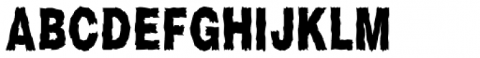 Scary Stories Font UPPERCASE