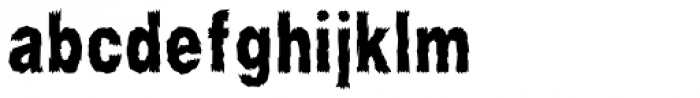 Scary Stories Font LOWERCASE