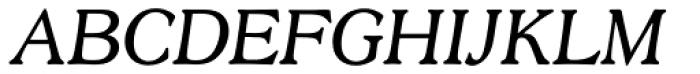 Scenario URW Light Italic Font UPPERCASE