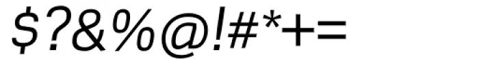 Scene Alt Italic Font OTHER CHARS