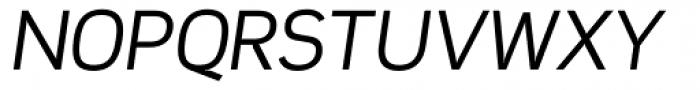 Scene Alt Italic Font UPPERCASE