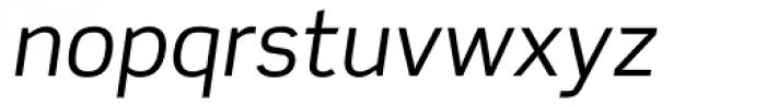 Scene Alt Italic Font LOWERCASE